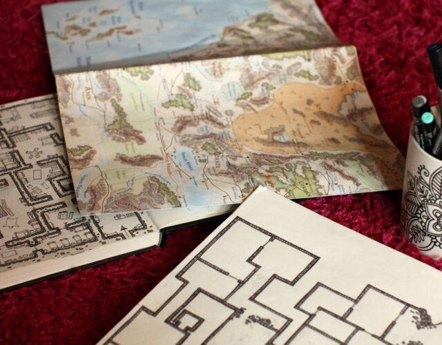 Mapy do sesji RPG dla poradnika: Jak opisywać lokacje?