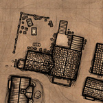 Faktoria centrum życia miasteczka RPG