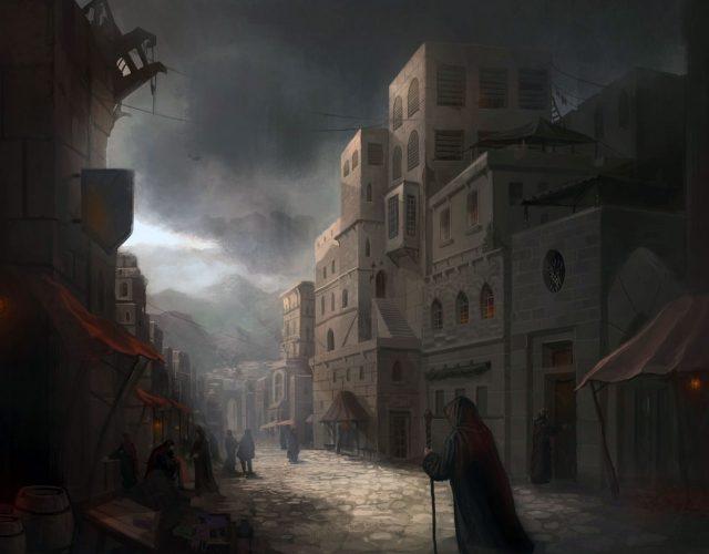 Stragany i handlarze, kupcy do fantasy, RPG.