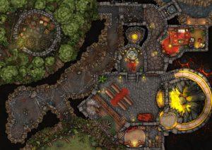 """#RPGADAY2020 – Finałowa mapa """"Teatru Okrucieństwa"""""""