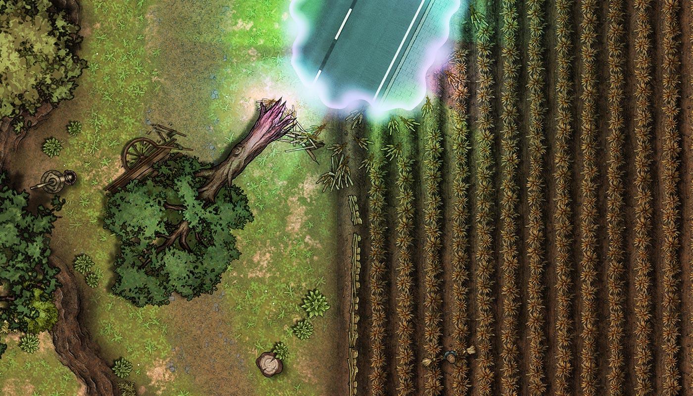 Wyrwa międzywymiarowa – darmowa mapka do RPG