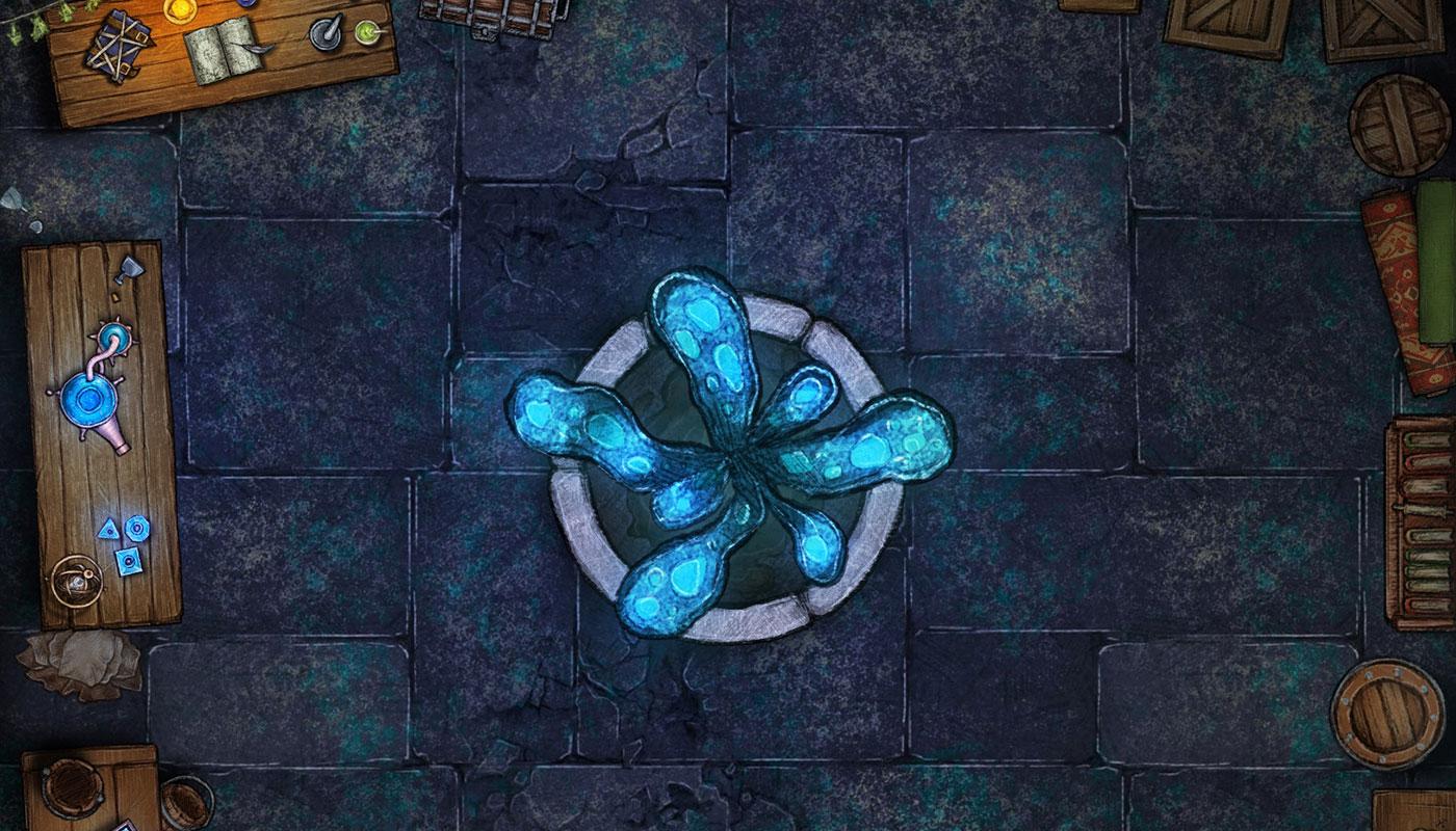 Piwnica alchemiczki – darmowa mapka do RPG